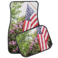 American flag car mats car mat
