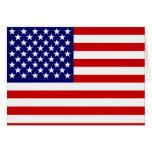 American flag card