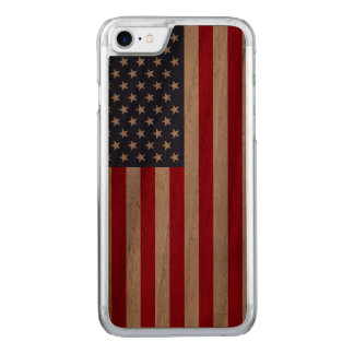 American Flag  carved® walnut iPhone 6 bumper Carved iPhone 8/7 Case