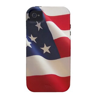 American Flag Vibe iPhone 4 Covers