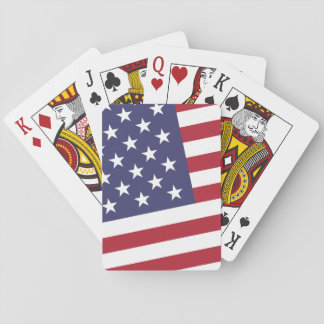 American Flag - Celebrate the USA - July 4 Classic Playing Cards