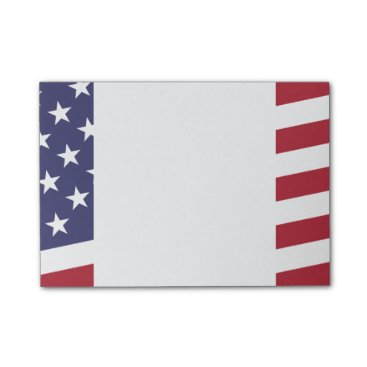 antiqueimages American Flag - Celebrate the USA - July 4 Classic Post-it Notes