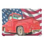 American Flag Classic Truck iPad Skins iPad Mini Cover
