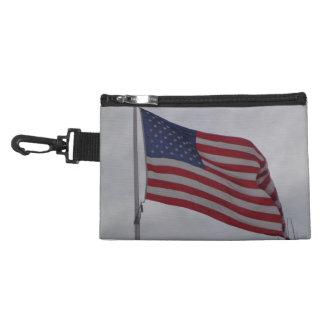 American Flag Clip Bag