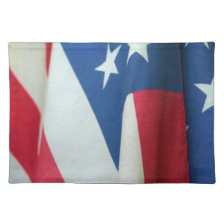 American Flag Cloth Placemat