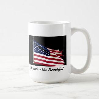 American Flag coffee cup Coffee Mugs
