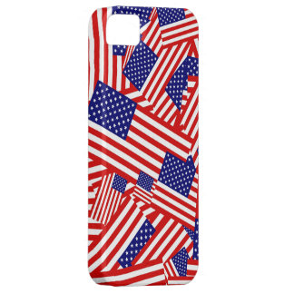 American Flag Collage iPhone SE/5/5s Case