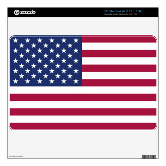 American Flag Computer Skin Decals For MacBook Air