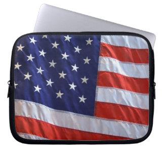 American Flag Computer Sleeves