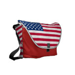 American Flag Courier Bag