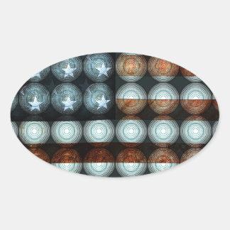 American Flag Creative Stickers