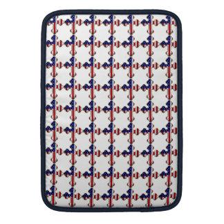 American Flag Cross2 Sleeve For MacBook Air