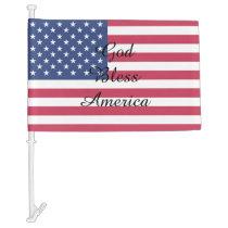American Flag Customizable Car Flag