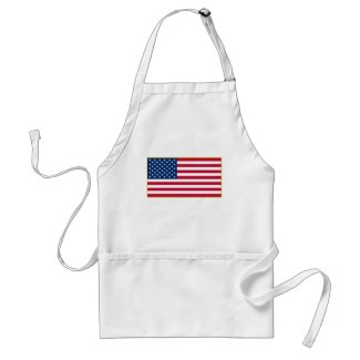 American Flag Customizable Products apron