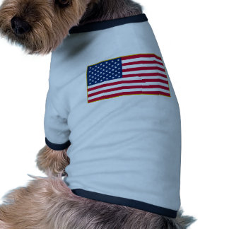 American Flag Customizable Products Pet T-shirt
