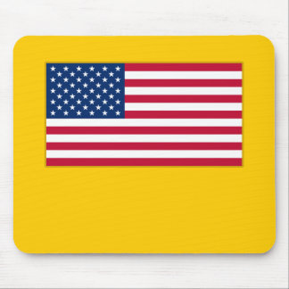 American Flag Customizable Products Mouse Pad