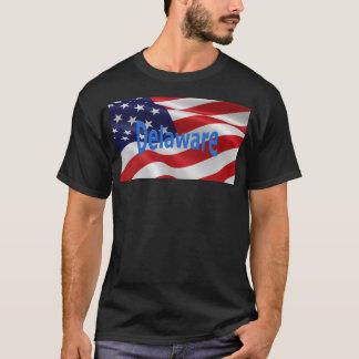 American Flag Delaware T-Shirt
