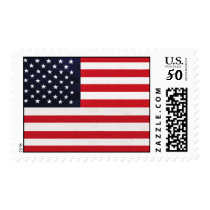American Flag Design Postage