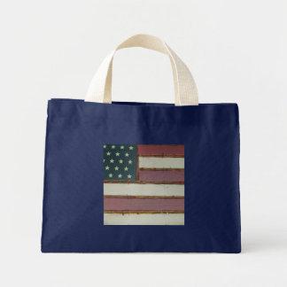 American Flag Design Tote Bag