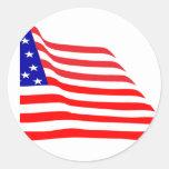 american flag designs sticker