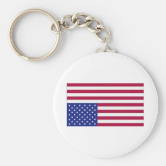 American Flag Distress Signal Keychain