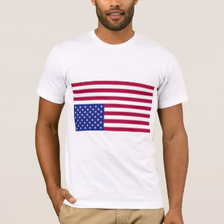 American Flag Distress Signal T- Shirt