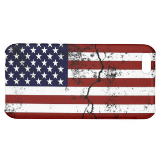 American Flag Distressed iPhone 5C Covers