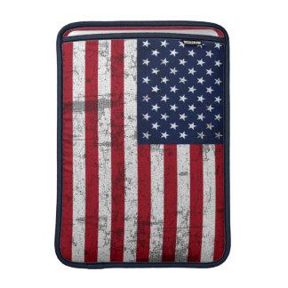 American Flag Distressed MacBook Air Sleeve