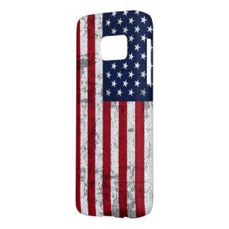 American Flag Distressed Samsung Galaxy S7 Case