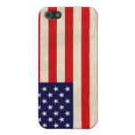 American Flag Distressed USA Hard Shell Case Covers For iPhone 5
