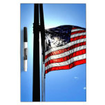 American Flag Dry-Erase Whiteboard