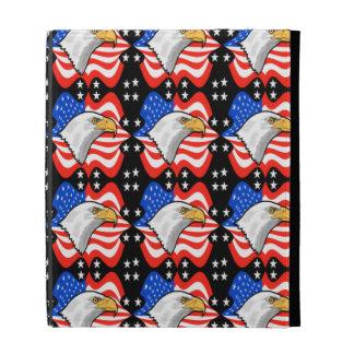 American Flag & Eagle iPad Folio Cases