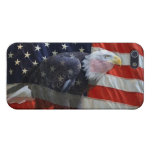 American Flag Eagle iPhone 4 Cover