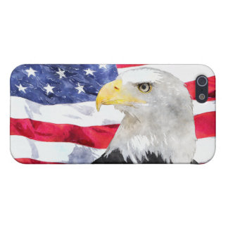 AMERICAN FLAG & EAGLE iPhone SE/5/5s COVER