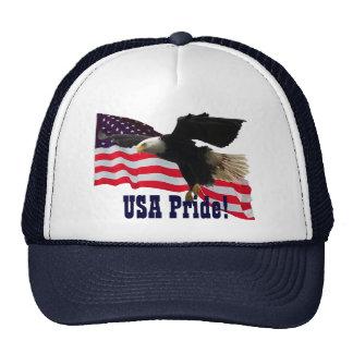 AmerIcan Flag & Eagle USA Pride Hats