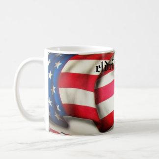 American Flag, eldridge arts, #936-648-6889 Classic White Coffee Mug