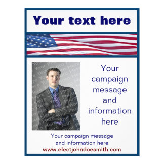 Campaign Flyers & Programs | Zazzle