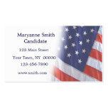 American Flag Fade Business Card