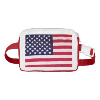 American flag fanny pack nylon fanny pack
