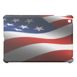 American Flag Fitted Hard Shell iPad Case