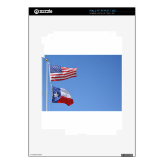 American Flag Flags Texas Stars Stripes Decal For The iPad 2