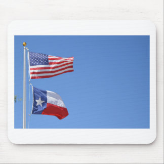 American Flag Flags Texas Stars Stripes Mouse Pad