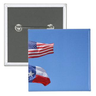 American Flag Flags Texas Stars Stripes Pin