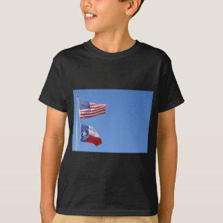 American Flag Flags Texas Stars Stripes T-Shirt