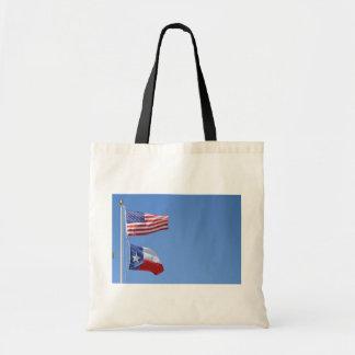 American Flag Flags Texas Stars Stripes Tote Bag