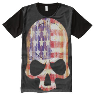 american flag, forever american All-Over print shirt
