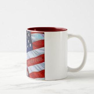 American Flag Freedom is Never Free Mug