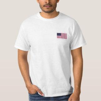 American Flag Frocket Front Pocket Est 1776 Fratt Shirt