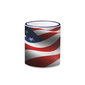 American Flag Full Graphic Coffee Mug