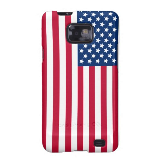 American Flag Galaxy S2 Cases